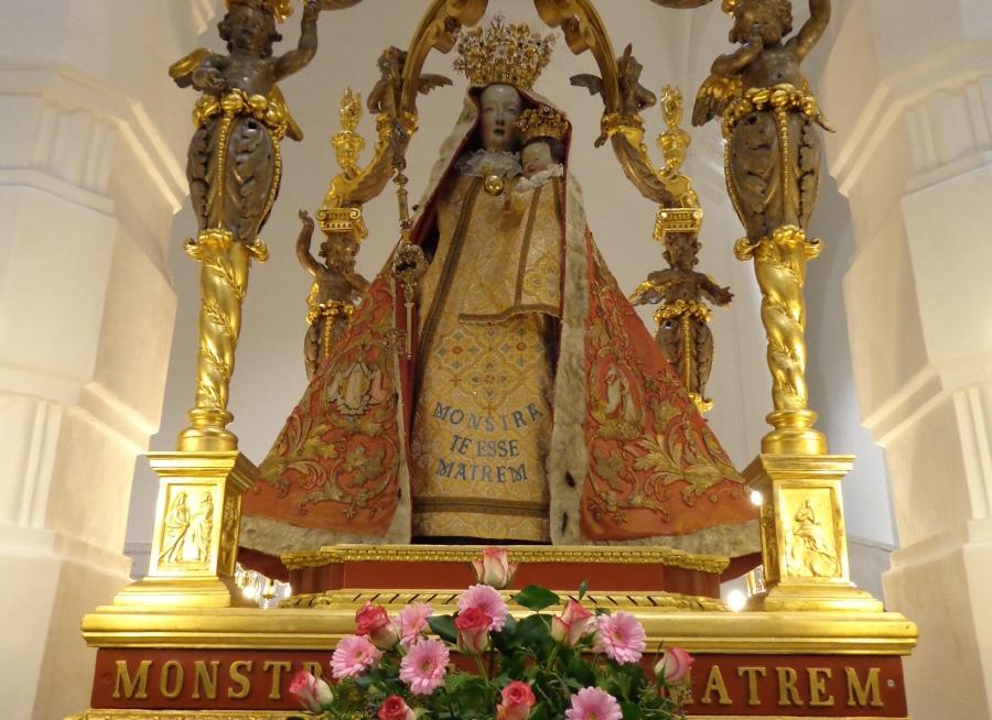 Mariabeeld voor website